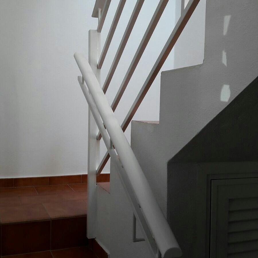 Instalacion Escalera acero Ecosteel