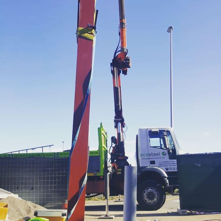 construcción gasolinera bp en TENERIFE